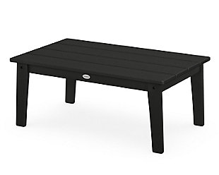 Lakeside Coffee Table, Black, rollover