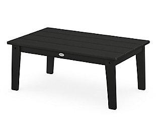 Lakeside Coffee Table, Black, large