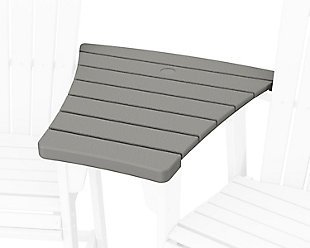 600 Series Angled Adirondack Dining Connecting Table, Slate Gray, large