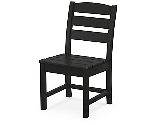 Lakeside Dining Side Chair, Black, rollover