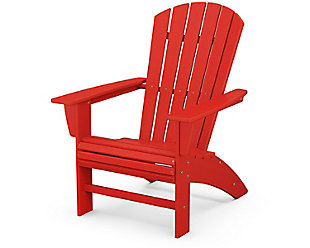 Nautical Curveback Adirondack Chair, , large