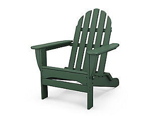 Classic Folding Adirondack Chair, , large
