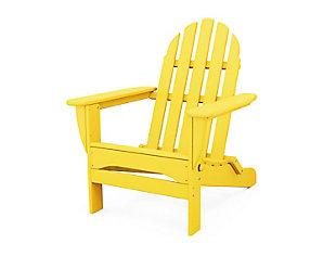 Classic Folding Adirondack Chair, , rollover