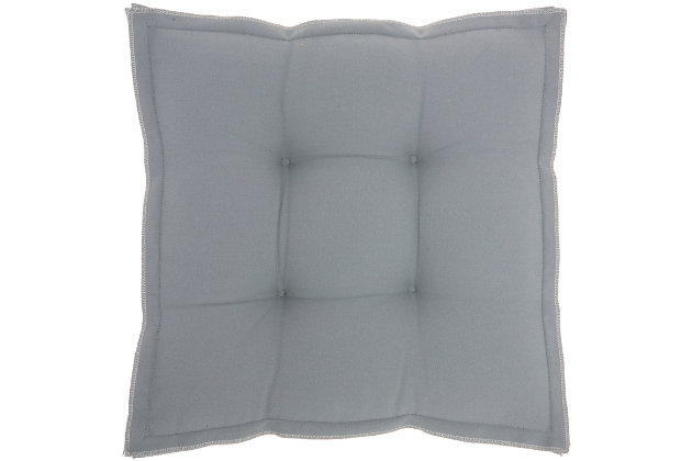 """Mina Victory Outdoor Pillow 18""""x18""""x3"""", , large"""