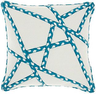 "Mina Victory Outdoor Pillow 18""x18"", , large"