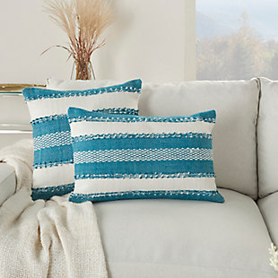 """Mina Victory Outdoor Pillow 14""""x22"""", , large"""