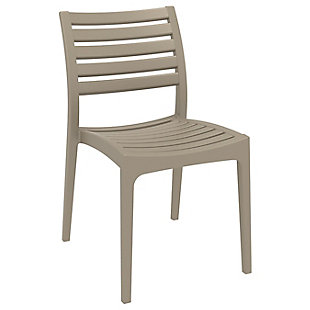 Siesta Outdoor Ares Dining Chair Taupe (Set of 2), , large