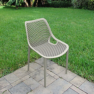 Siesta Outdoor Air Dining Chair Taupe (Set of 2), Taupe, rollover