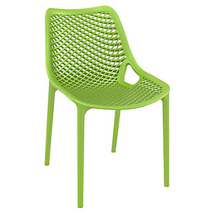 Siesta Outdoor Air Dining Chair Tropical Green (Set of 2), Tropical Green, large