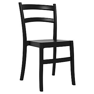 Siesta Outdoor Tiffany Dining Chair Black (Set of 2), , large