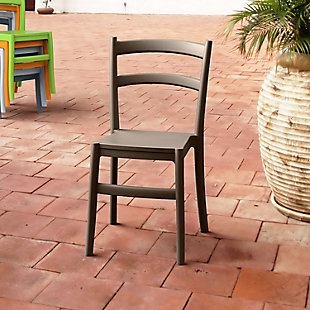 Siesta Outdoor Tiffany Dining Chair Brown (Set of 2), , rollover