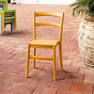 Siesta Outdoor Tiffany Dining Chair Orange (Set of 2), , rollover