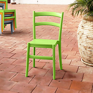 Siesta Outdoor Tiffany Dining Chair Tropical Green (Set of 2), Tropical Green, rollover