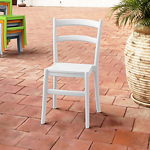 Siesta Outdoor Tiffany Dining Chair White (Set of 2), , rollover