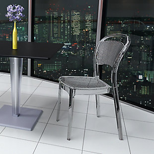 Siesta Outdoor Bee Dining Chair Transparent Clear (Set of 2), , rollover