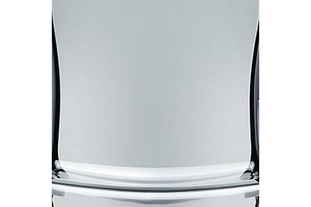Siesta Outdoor Fox Bar Stool Transparent Smoke Gray (Set of 2), Transparent Gray, large