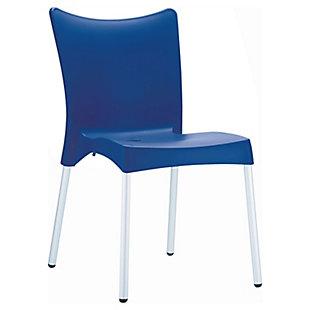 Siesta Outdoor Juliette Dining Chair Dark Blue (Set of 2), , large