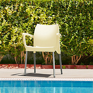 Siesta Outdoor Dolce Arm Chair Beige (Set of 2), , rollover