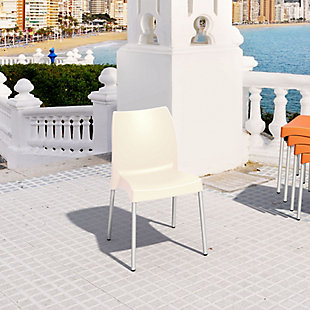 Siesta Outdoor Vita Dining Chair Beige (Set of 2), , rollover
