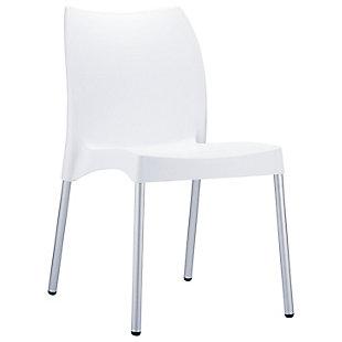 Siesta Outdoor Vita Dining Chair White (Set of 2), , large