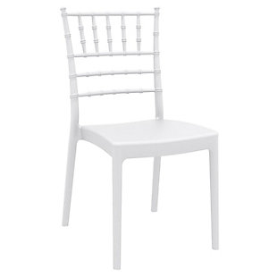 Siesta Outdoor Josephine Dining Chair White (Set of 2), , large