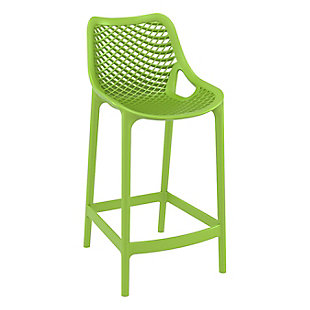 Siesta Outdoor Air Counter Stool Tropical Green (Set of 2), , large