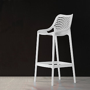 Siesta Outdoor Air Counter Stool White (Set of 2), , rollover