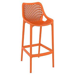 Siesta Outdoor Air Bar Stool Orange (Set of 2), , large