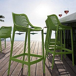 Siesta Outdoor Air Bar Stool Tropical Green (Set of 2), , rollover