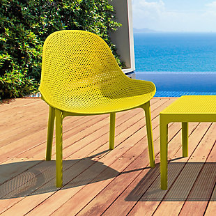 Siesta Outdoor Sky Lounge Chair Yellow (Set of 2), Yellow, rollover