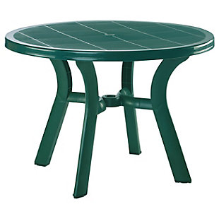 """Siesta Outdoor Truva Round Dining Table 42"""" Green, , large"""