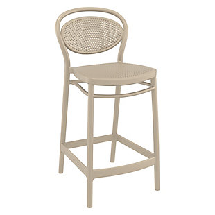 Siesta Outdoor Marcel Counter Stool Taupe (Set of 2), , large