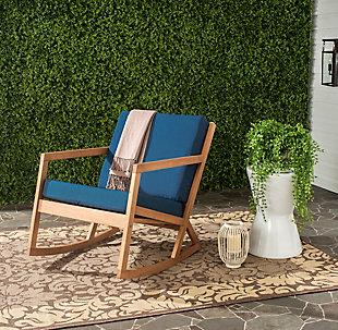 Safavieh Vernon Rocking Chair, , rollover