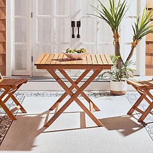 Safavieh Kresler Folding Table, , rollover