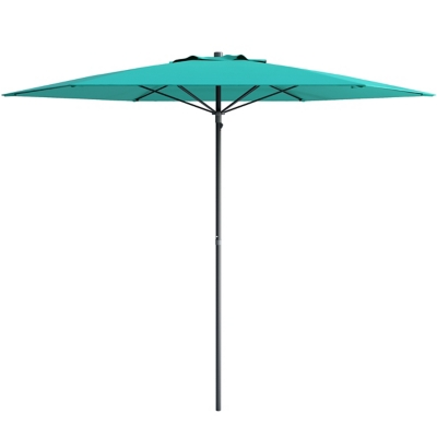 CorLiving 7.5' Outdoor UV and Wind Resistant Beach/Patio Umbrella, Blue, large