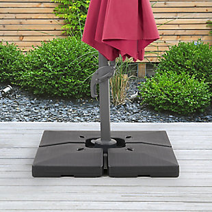 CorLiving Outdoor Deluxe Patio Base for Heavy and Offset Umbrellas, , rollover