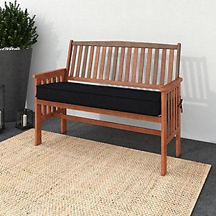 CorLiving Outdoor Hardwood Bench, , rollover