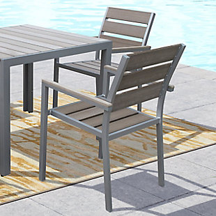 CorLiving Outdoor Dining Chairs (Set of 2), , rollover