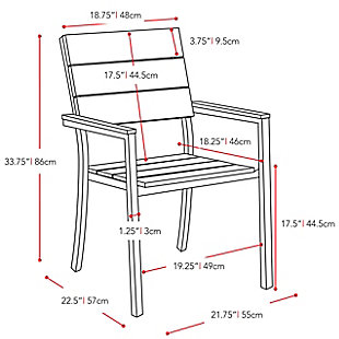 CorLiving Outdoor Dining Chairs (Set of 2), , large