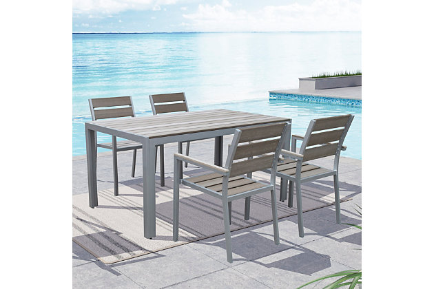 CorLiving Outdoor Dining Chairs (Set of 4), , large