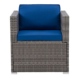 Parksville  Outdoor Patio Sectional Armchair, , large