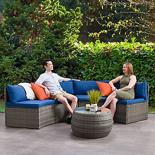 Parksville  3-Piece Outdoor Patio Sectional Set, , rollover