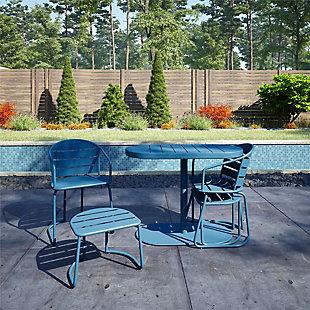 COSCO Outdoor Living Furniture 5-Piece Patio Bistro Set, , large