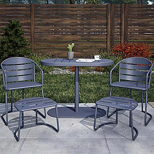 COSCO Outdoor Living Furniture 5-Piece Patio Bistro Set, , rollover