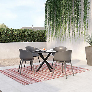 Novogratz Poolside Collection York XL Dining Chairs (Set of 2), , rollover