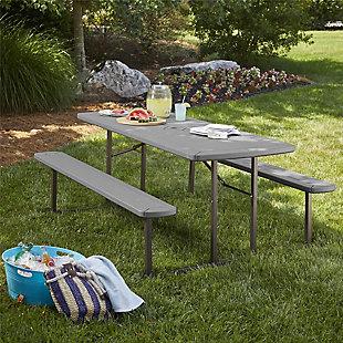 COSCO Outdoor Living 6' Folding Picnic Table, , rollover