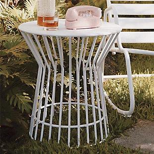 Novogratz Poolside Gossip Collection Roberta Outdoor/Indoor Side Table, , rollover