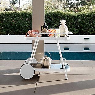 Novogratz Poolside Collection Barbie Outdoor Bar Cart, , rollover