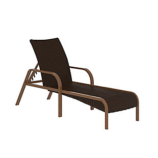 COSCO Outdoor Living SmartWick Patio Chaise Lounger, , large