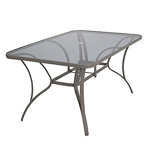 COSCO Outdoor Living COSCO Outdoor Living™ Paloma Steel Patio Dining Table, , large